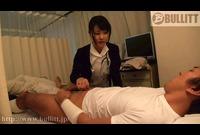 若手看護師を誘惑して焦らしセックス-①