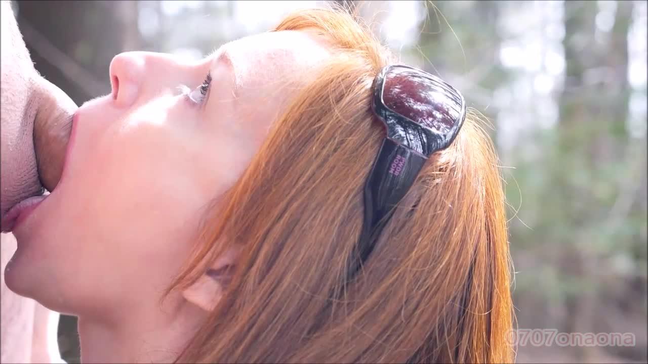 【素人】海外美女に口内射精②【個人撮影】